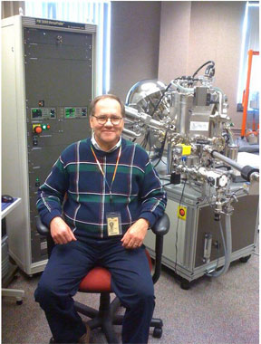 Staff Scientist Gary Korba