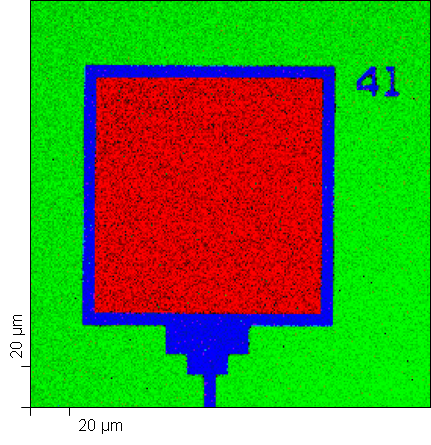 Multiple Silicon Chemical State Image