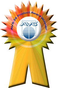 AVS 56th Product Award Winner Ribbon
